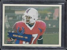 REGGIE WAYNE 2001 FLEER TRADITION COLTS TRUE ROOKIE RC #D 350/699