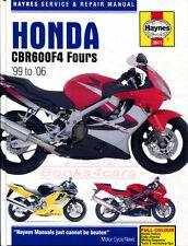 SHOP MANUAL CBR600F4 SERVICE REPAIR HONDA HAYNES BOOK CLYMER CBR 600 F4