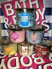 Bath & Body Works 3 Wick Candle 14.5oz 411g *USA EXCLUSIVE SCENTS*