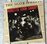 Roxette - Look Sharp! - Marie Fredriksson 1988 Vinyl LP (inc.The Look) 1st PRESS