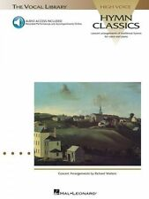 Hymn Classics Vocal Library High Voice Vocal Collection Book and Audio 000740033