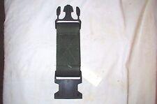 ARMY Surplus One (1) LBV OD Green Web Pistol Utility Equipment Belt Extender BNB
