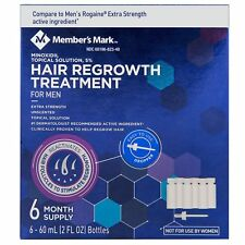 Minoxidil 5% Extra Strength Men Hair Regrowth Solution 6 Month Supply