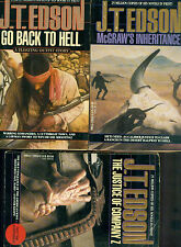 J.T. Edson lot (3) COMPANY Z, MCGRAW'S INHERITANC,E TO HELL (1991/1992) Dell pbs