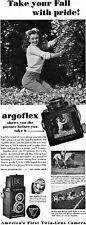 Marilyn Monroe for Argoflex Camera ARGUS Famous Early Original Magazine 1948 Ad