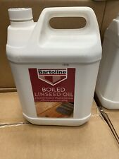 5L Bartoline Boiled Linseed Oil For Internal & Exterior Use