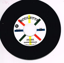 JOHNNIE STRICKLAND - SHE'S MINE / YOU'VE GOT WHAT IT TAKES -  ROCKABILLY JIVER