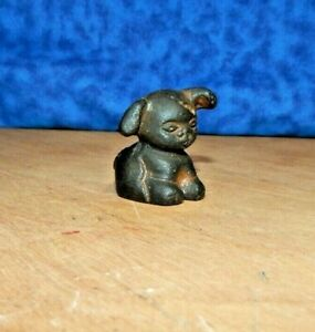 "GRISWOLD ""PUP"" PUPPY DOG CAST IRON PAPERWEIGHT NOVELTY PROMO ADVERTISING m"