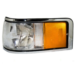Drivers Signal Side Marker Light Lamp Lens for 1990-1994 Lincoln Town Car