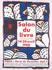 AP163 Vintage 1898 French Salon National Advertisement Poster Print A2//A3//A4