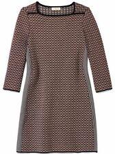 Tory Burch Brown Jacquard Dress sz: M