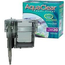Aqua Clear 20 Power Filter for 5-20 Gallon Aquariums A595 ~ NEW FACTORY SEALED
