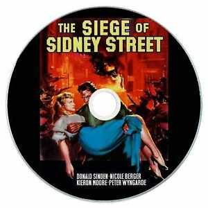 The Siege of Sidney Street 1960 Classic DVD Film