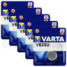 5 x Varta V625U batteries Alkaline 1.5V LR9 4626 PX625A 625A Button Cell Key Fob