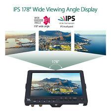 "S7 7"" 4K HDMI On-Camera Field Monitor IPS 1920*1200 LCD Video Screen 1100:1 16:9"