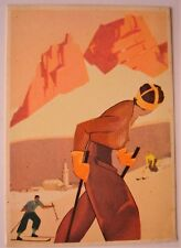 Cartolina Vintage PostCard M.DUDOVICH, Calze Fama - anni '20