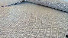 Pistachio Green Herringbone Tweed Suiting Fabric Poly/Silk Blend BTY # 1030