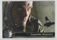 2002 2002-03 Rittenhouse Stargate SG-1 Season 5 #34 On a deserted road Card 2ts
