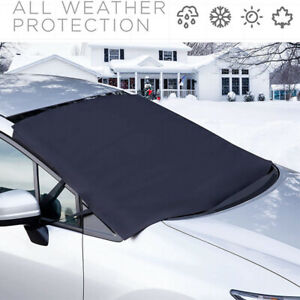 Car Truck SUV Windshield Snow Winter Ice Frost Guard Protector Sun Shield Cover