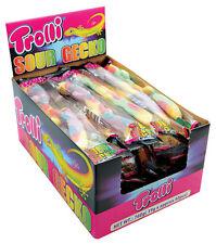 Bulk 40 x Trolli Sour Gecko Gummy Candy Buffet Sweets Lolly Parties
