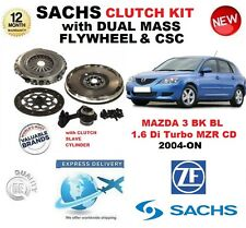 para MAZDA 3 Negro BL 1.6 Di Turbo MZR CD EMBRAGUE KIT 2004-on with Volante CSC