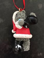 ME to You Tatty Teddy Bear da Appendere Albero Natale Decorazione-ribaltamento neve fuori Boot
