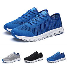 Mens Outdoor Running Mesh Breathable Sports Non-slip New Fashion Sneakers Shoes