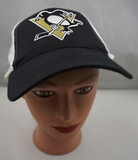 Pittsburgh Penguins Hat White Stitched Snapback Trucker Cap Pre-Owned ST186
