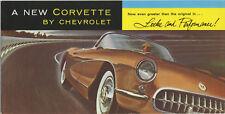 catalogue voiture americaine CHEVROLET 1956 CORVETTE TB état