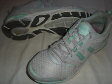Ryka Revenant Leather/Mesh Walking Shoes w/Re-Zorb Womens 7 M Medium Grey  +