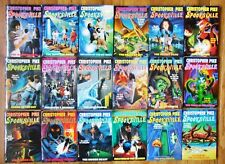 18 SPOOKSVILLE BOOK SET 1-18 BY CHRISTOPHER PIKE SOFTCOVER 1990s LIKE GOOSEBUMPS