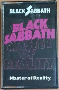 BLACK SABBATH 'MASTER OF REALITY' GERMAN CASSETTE