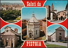 AA8520 Saluti da Pistoia - Vedute - Cartolina postale - Postcard