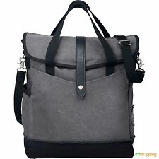 "Grey zipper Fashion Style Field & Co.® Hudson 14"" Laptop  Computer Tote Bag"
