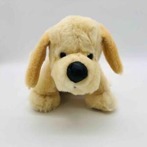 "Ganz Webkinz 12"" YELLOW LAB Puppy HM153 Plush Labrador Stuffed Animal No Code"