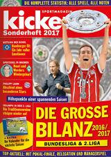 Kicker Sonderheft Die Grosse Bilanz 2016/2017 - German Football Season Review