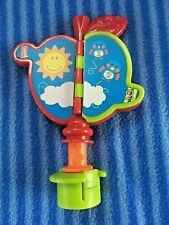Evenflo Ultra Exersaucer Castle Theme Apple Mirror Toy Replacement Part