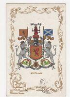 Scotland Heraldic Postcard, B131