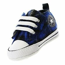 Converse CHUCK TAYLOR Blue/Black/White Toddler Shoes Size 4