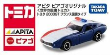 "Takara Tomy Tomica ""Apita - Piago"" Ex. Toyota 2000GT France Flag Special"