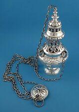 Weihrauchschwenker / Weihrauchbrenner, 950er Silber