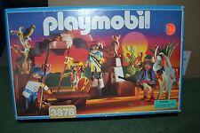 MINT in box Playmobil RARE set 3878 Renegade Warriors Native American Indian