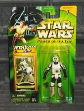 STAR WARS POTJ SERIES IMPERIAL PATROL BIKER SCOUT TROOPER  FIGURE