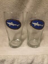 2 - Dogfish Head American Beauty Grateful Dead Beer Glasses Bx