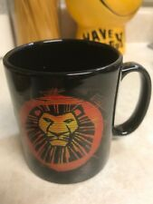 The Lion King London black MUG (great shape)
