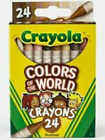 2pack Crayola Colors of the World Crayons 24pc Skin/Hair/Multicultural/Diversity