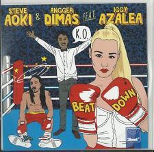 Steve Aoki & Angger Dimas ft Iggy Azalea - Beat down (2012)  1 Track Promo CD