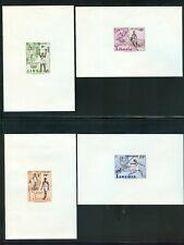 LIBERIA SCOTT#390-92, C126, 1960 ROME OLYMPICS IMPERFS.
