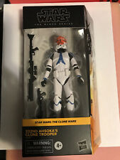 Star Wars Black Series 332nd Ahsoka's Clone Trooper Not Mint New Walmart Wars