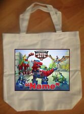 """""""Transformers Rescue Bots"""" Personalized Birthday Tote Bag Party Favor - NEW"""